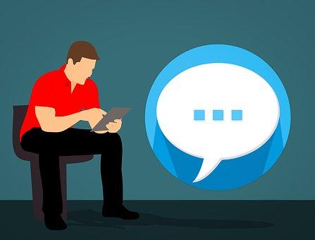 Talk, Chat, Texting, Conversation, Speech Bubble, Comic
