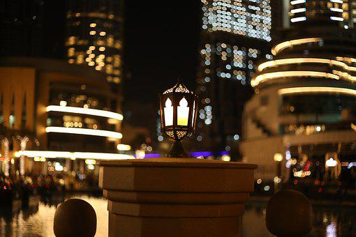 Architecture, City, Travel, Building, Light, Dubai