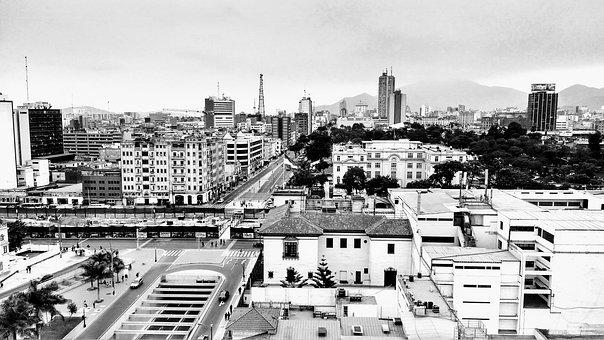 City, Urban Landscape, Horizon, Horizontal, Travel