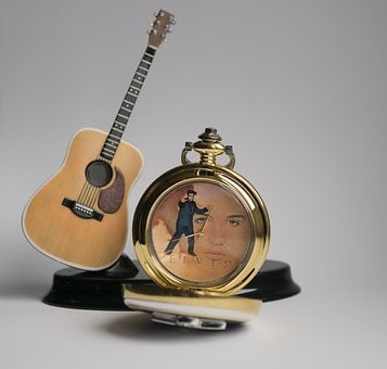 Instrument, Sound, Antique, Guitar, Clock