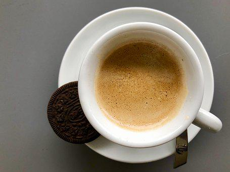 Coffee, Espresso, Caffeine, Drink, Cookie, Oreo