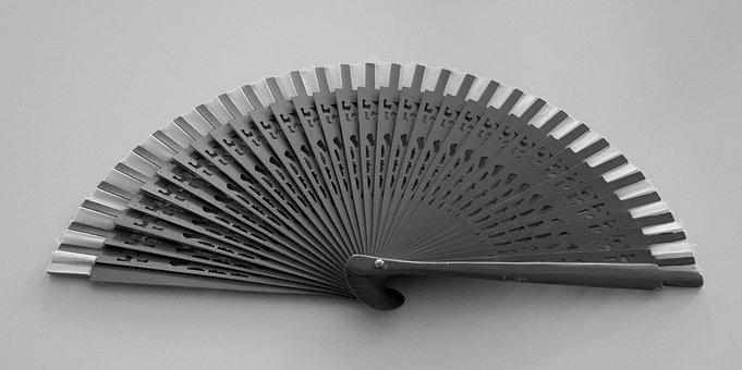 Fan, Air, Cooling, Elegance, Lady