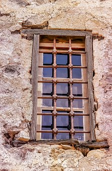Window, Home, Old, Architecture, Wall, Building, Greece