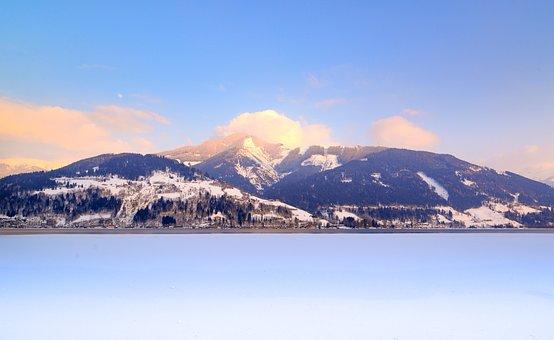 Snow, Mountain, Nature, Panoramic, Landscape
