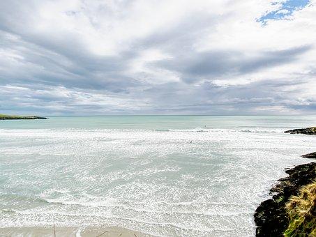 Water, Sea, Nature, Sky, Sand, Ireland