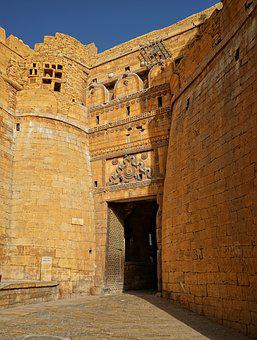 Jaisalmer, Architecture, Travel, Gothic, Palace, Old