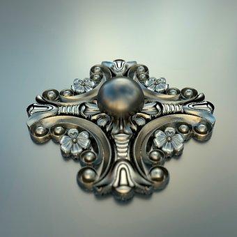 Flowery, Jewellery, Antique, Precious