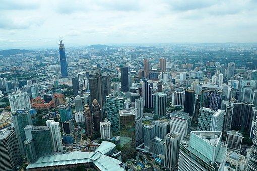 Skyscraper, City, Skyline, Urban Landscape, Modern