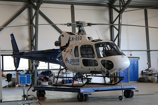 Helicopter, Aircraft, Transport System, Airport, Fly