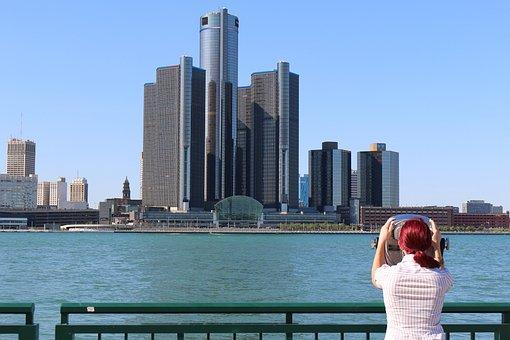 Skyscraper, Skyline, Architecture, Downtown, Cityscape