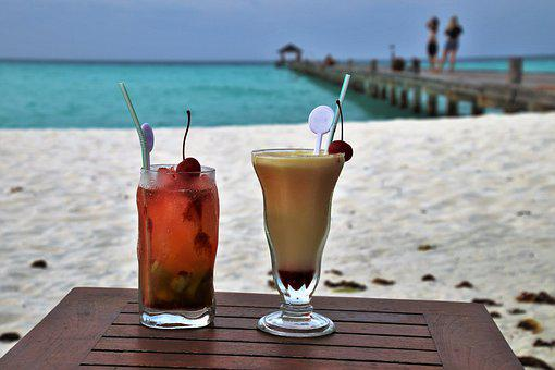 Holiday, The Drink, The Tropical, Sea, Ferie, Beach