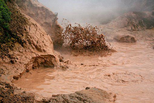 Dirt, Griffin, Geyser, Fumarole, Therma, Boiling Water