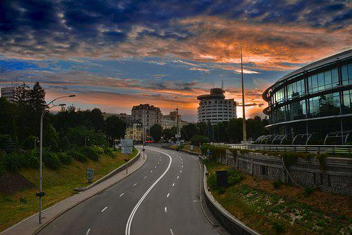 Road, Transportation System, Highway, Travel, Car, Sky