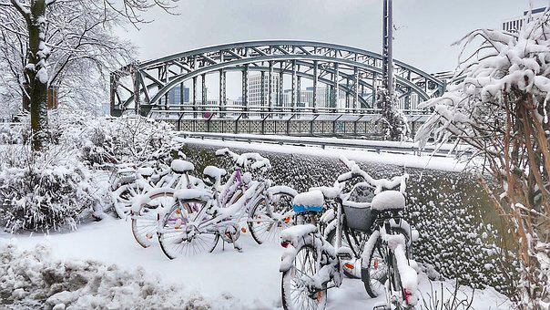 Winter, Cold, Snow, Transport System, Frost, Frozen