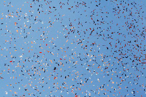 Abstract, Nature, Pattern, Color, Art, Cold, Confetti