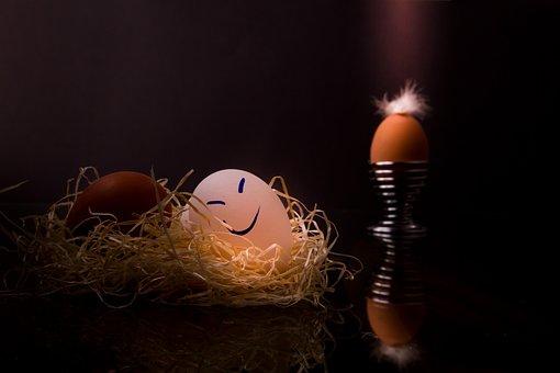 Easter, Easter Eggs, Egg, Happy Eggs, Dark Mood