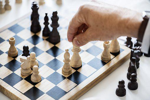 Chess, Gameplan, Pawn, Knight, Queen, America, American