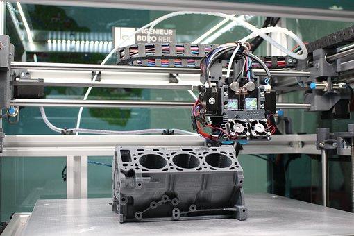 Industry, Technology, Machine, 3d, Vehicle, Robot