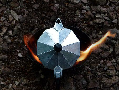 Nature, Camping, Camp, Outdoor, Kocher, Coffee