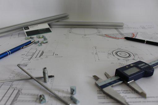 Paper, Company, Drawings, Freelance, Office, Designer