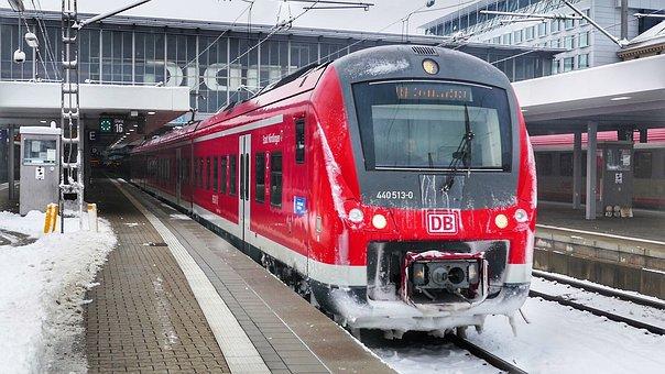 Train, Transport System, Railway, Station, Railway Line