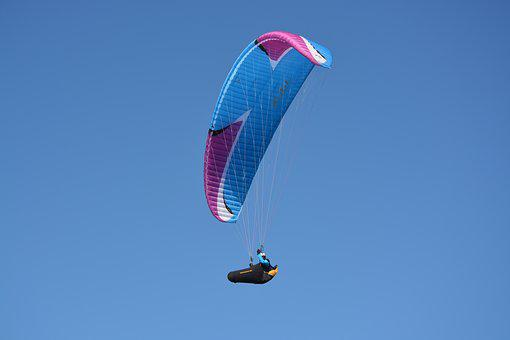 Paragliding, Fly, Fly Free, Leisure Sports, Sailing