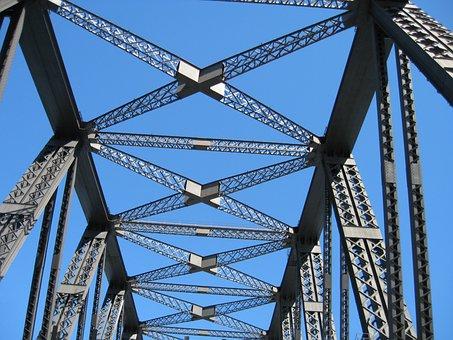 Sky, Steel, Bridge, Architecture, Sydney