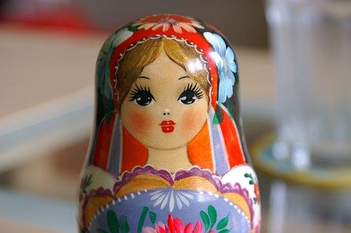 Toys, Traditionally, Figurine, Matroschka, Figure