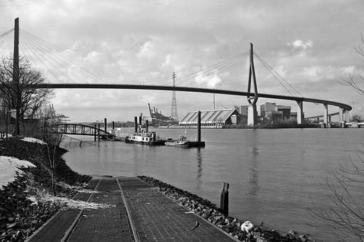 River, Bridge, Waters, Transport System
