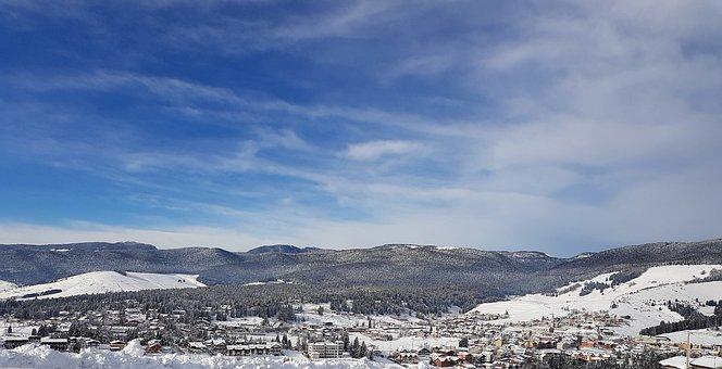 Mountain, Gallium, Asiago, Veneto, Nature, Winter, Snow