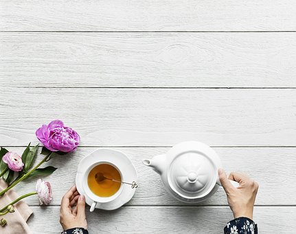 Table, Desktop, Cup, Wooden, Afternoon, Afternoon Tea