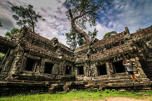 Temple, Old, Architecture, Ancient, Wat, Travel, Buddha