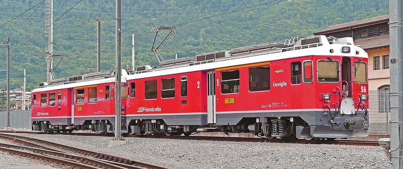 Bernina Railway, Rhaetian Railways, Rhb