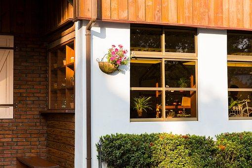Window, House, Building, Family, Wood, Taiwan Yilan
