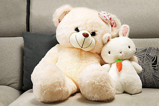 Toys, Teddy Bear, Family, Cute, Plush Toys, Child