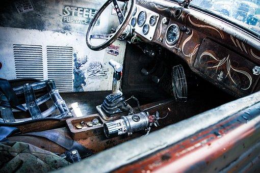 Car, Shiny, Hot Rod, Die, Chrome, Childhood Dream