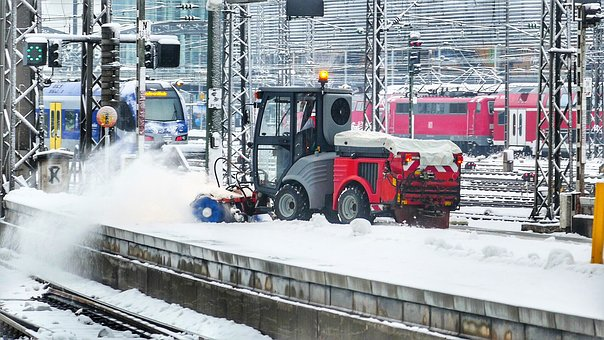 Industry, Transport System, Railway Station, Vehicle