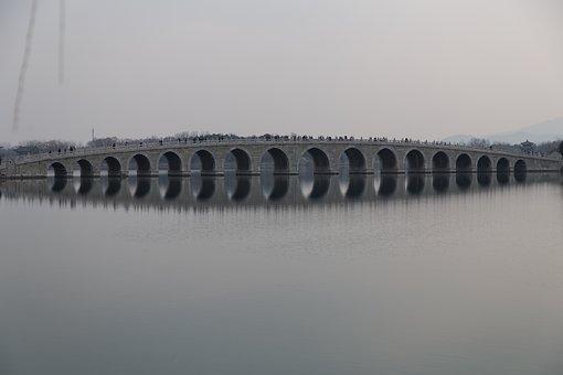 Ishibashi, The Summer Palace, Reflection, Kunming Lake