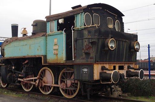 Steam Locomotive, Train Track, Locomotive