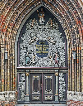 Stralsund, Nikolai Church, Main Portal
