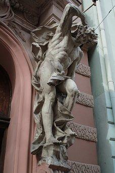 Sculpture, Statue, Art, Travel, Monument, Atlant