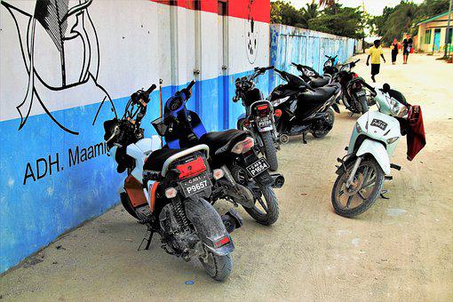 Motorcycle, Street, Transport, The Vehicle, Lake Dusia