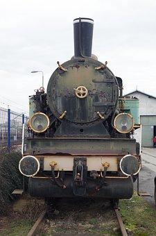 Steam Locomotive, Train Track, Old Train, Monument