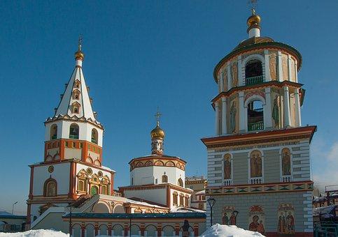 Siberia, Irkutsk, Orthodox Church