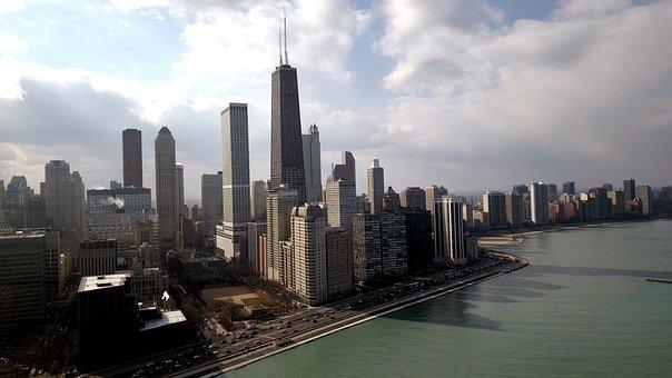 Skyscraper, Skyline, City, Cityscape, Panoramic