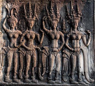 Sculpture, Art, Desktop, Religion, Buddha, God, Pattern