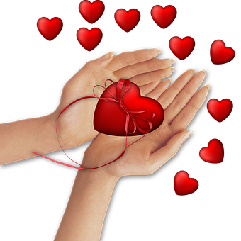 Png Image, Hands, Heart, Decoration, Romantic, Wishes