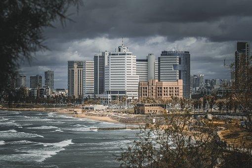 City, Townscape, Horizon Line, Skyscraper, Architecture