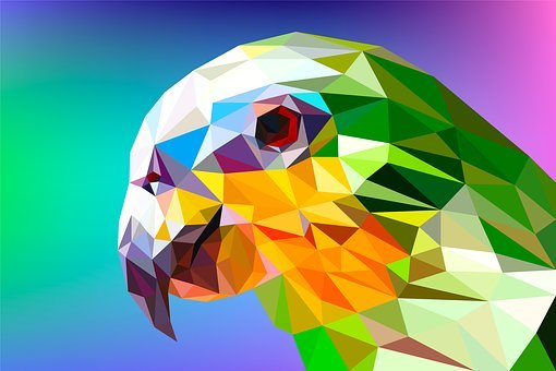 Triangle, Low Poly, Abstract, Background, Geometric