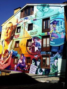 Graffiti, Women, Feminism, Different Ages, Vitoria